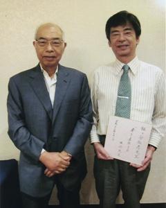 元国立がんセンター名誉総長、垣添忠生先生と当院院長
